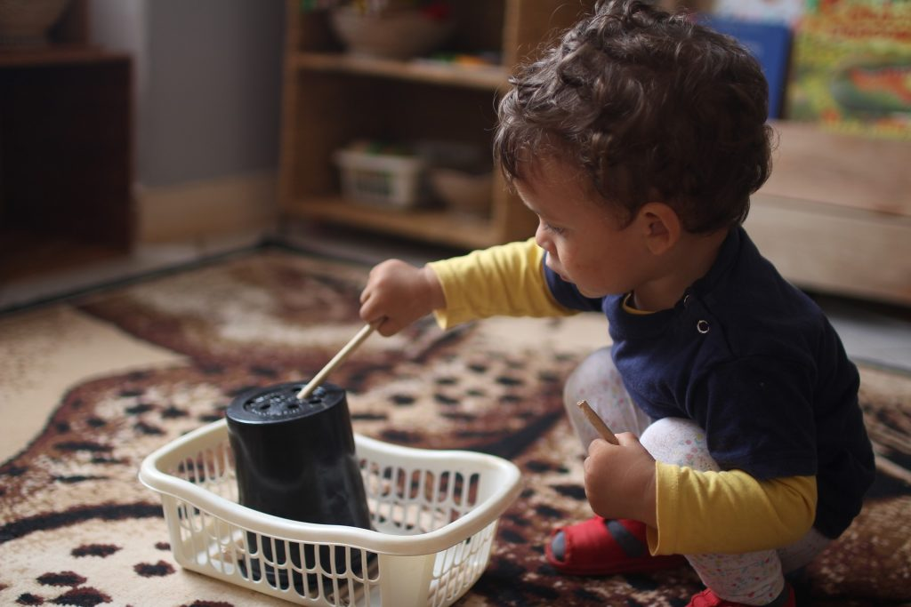 Activité de pédagogie Montessori